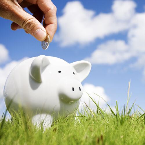 We offer financing: